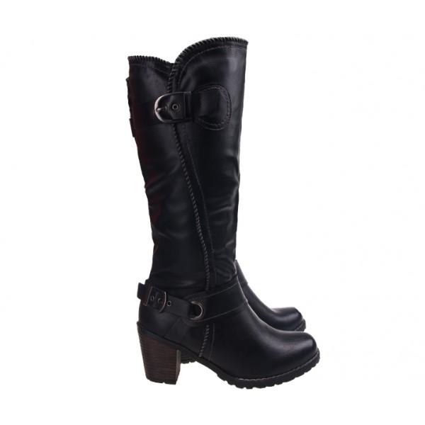 cizme-negru-cu-model-impletit-dalal