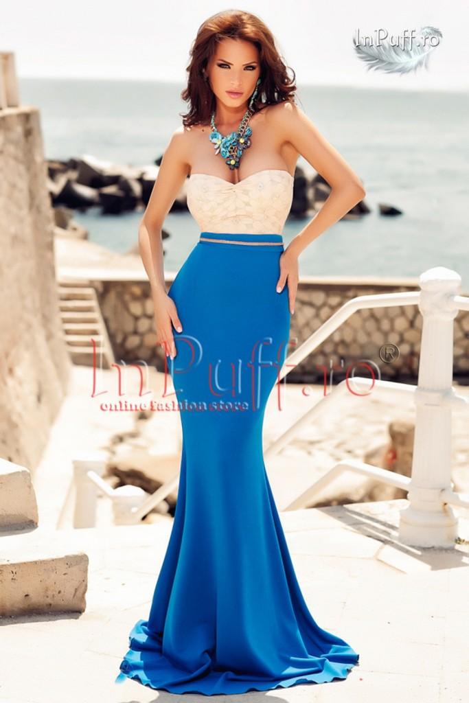 rochie-eleganta-stil-sirena-bej-albastru-1435652270-4
