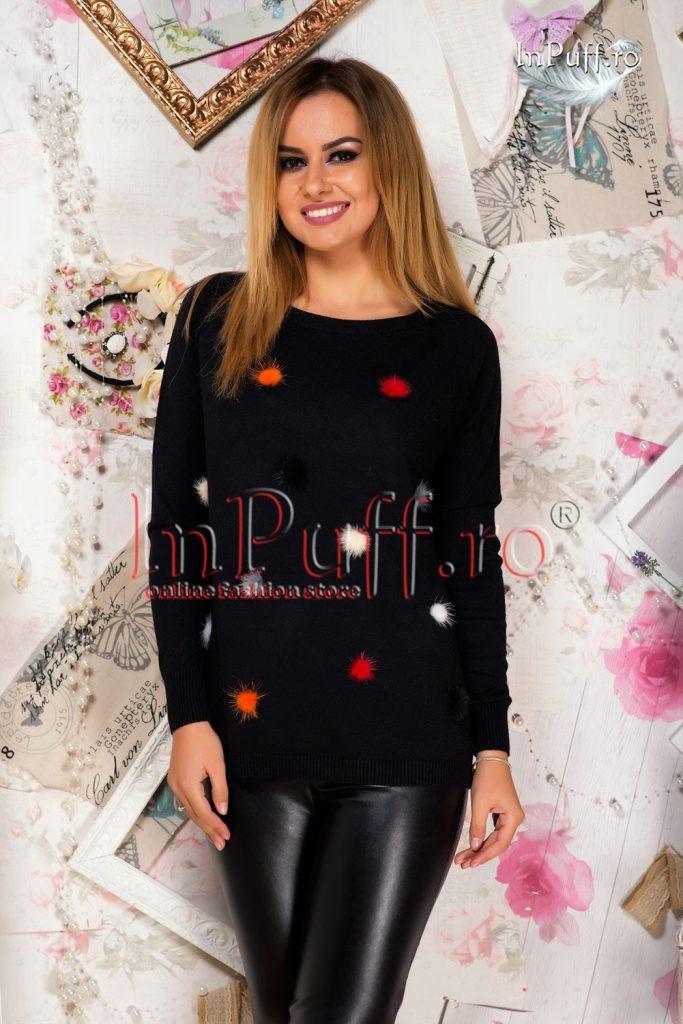 pulover-dama-negru-cu-pufi-colorati-1476197001-4