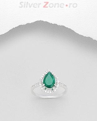 inel-din-argint-cu-agat-verde-picatura-M