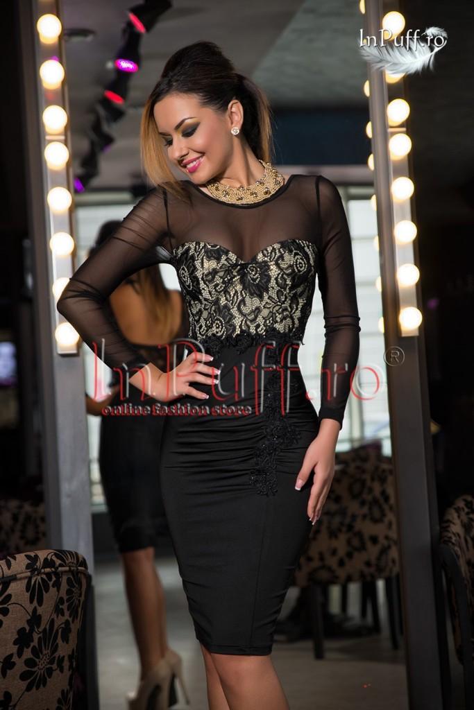 rochie-eleganta-trei-sferturi-lycra-maneca-tul-negru-1417524857-4