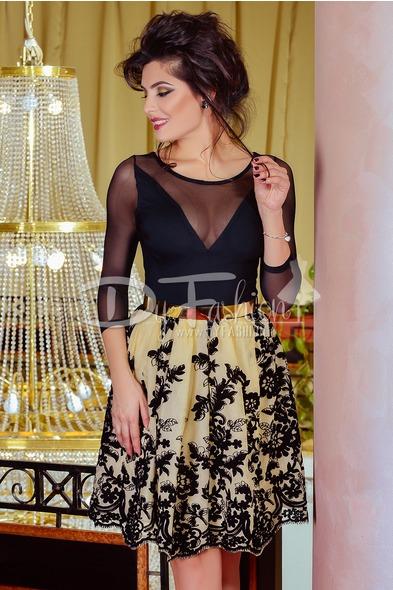 rochie-limited-black-beige-11607-2