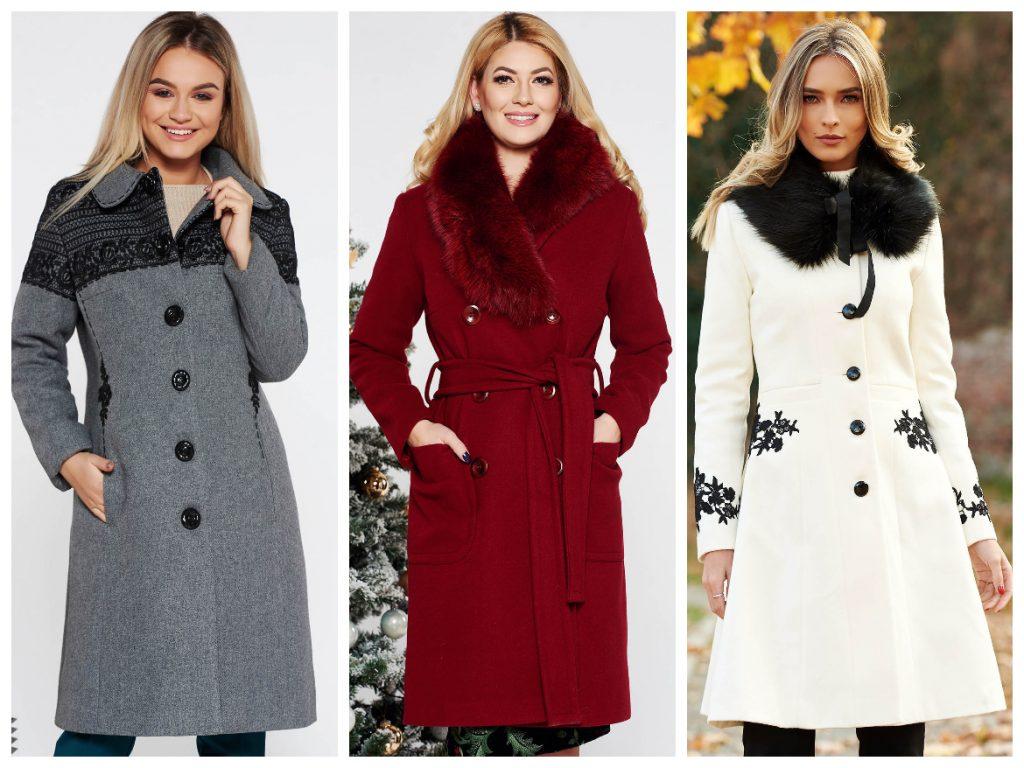colecție nouă de unde pot cumpăra jumătate de preț 10 modele de paltoane dama la reducere iarna 2019 - iubesc Moda